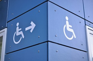 disabled signpost