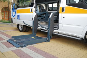 bus disability aids
