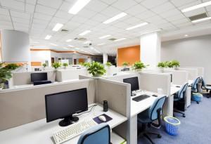 desks in office space