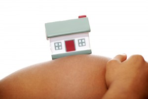 little house on a stomach