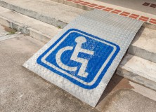 disabled access ramp