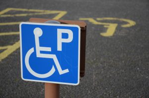 disabled parking badge